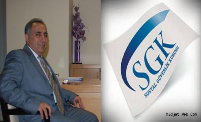Midyat SGK İlçe Müdürü Güneş'ten 6552 Sayılı Yapılandırma Uyarısı