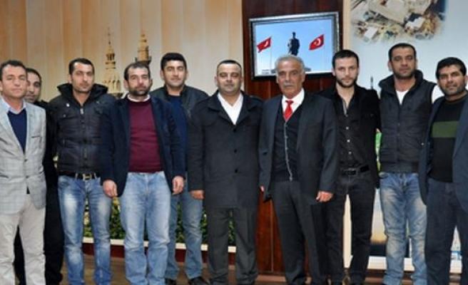 Şemikan Halkları Birliğinden Başkan Ağırman'a Ziyaret
