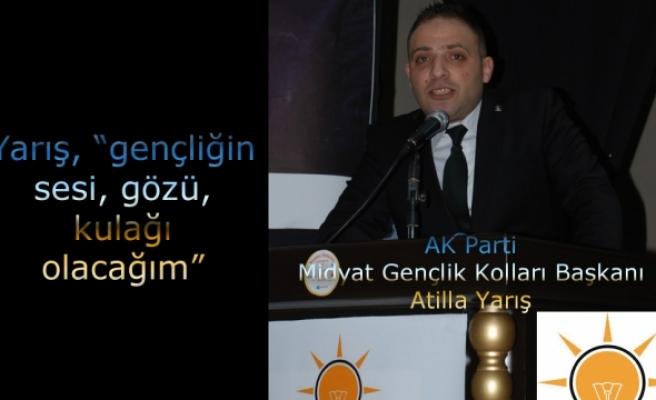 AK Parti Midyat İlçe Gençlik Kolları Kongresi Yapıldı.