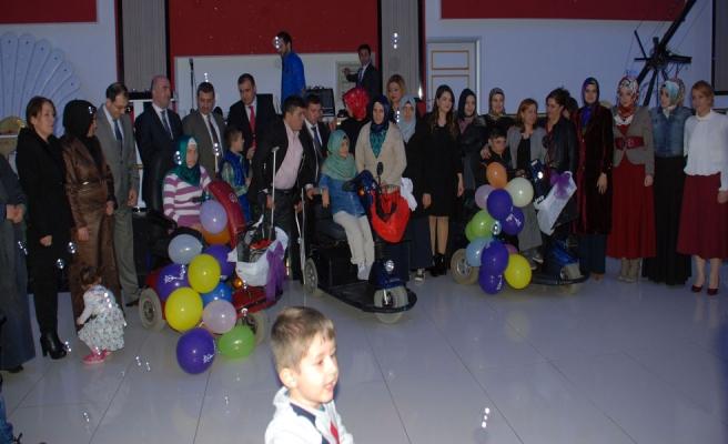 Midyat'ta Engelliler Dayanışma İçin İlk Defa Bir Araya Geldi
