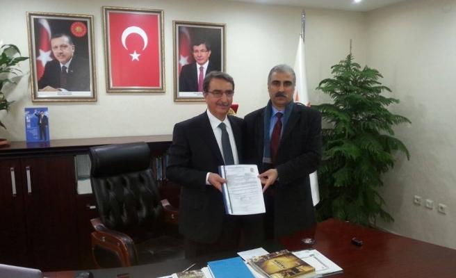 Abdulhakim Çelik Ak Parti Mardin Milletvekilli Aday Adaylığı İçin Başvurusunu Yaptı