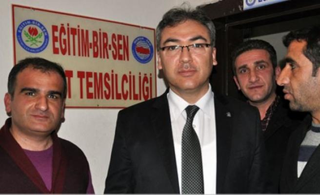 Mehmet Abdullah Aksoy Midyat Eğitim Bir Sen Temsilciliğini Ziyaret Etti