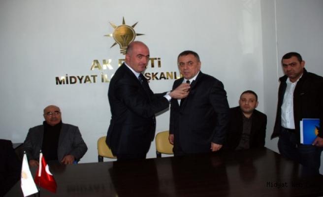 Veysi Şahin, Ak Parti'den Mardin Milletvekili Aday Adayı