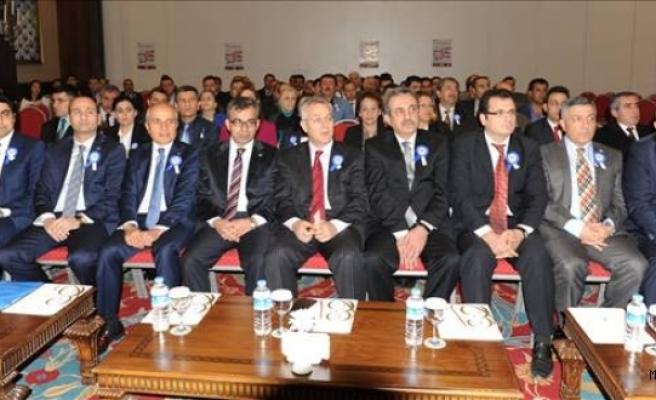 Mardin'de Vergi rekortmenlerine plaket verildi