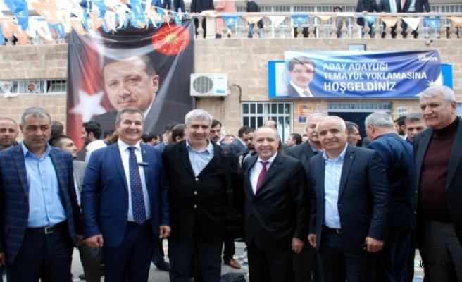 Dr. Nihat Özkan, Ak Parti Teşkilatlarına Teşekkür Etti