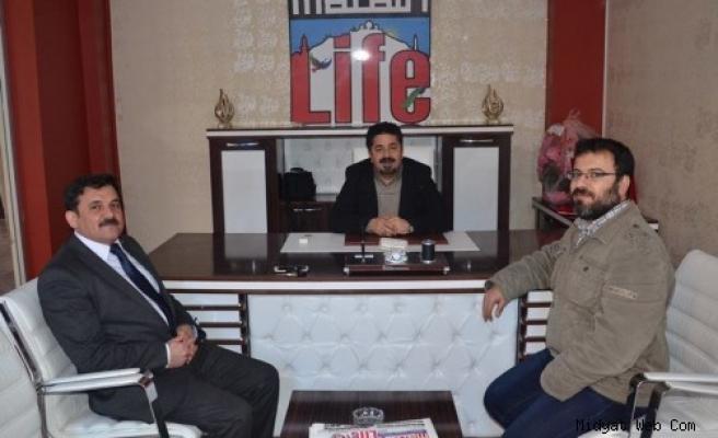 Fethullah Demir yerel basın temsilcilerini ziyaret etti