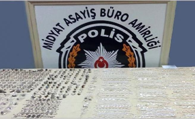 Midyat Polisi Pasaj Hırsızını Yakaladı