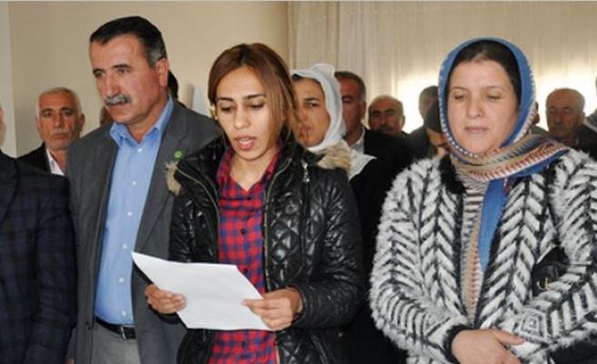 HDP Midyat ilçe örgütü Newruz Açıklaması Yaptı