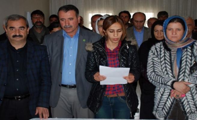 Midyat HDP ve DBP Nevruz Ateşini Çalpınar (Site)'de yakacak