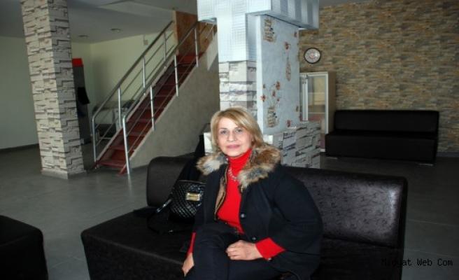 Midyat'lı Fidan İşcan, engellilerin sesi olmak için adayım dedi