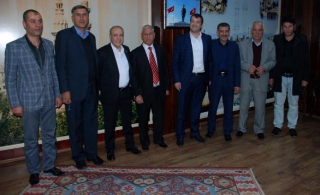 Dr. Nihat Özkan, Süryani Başkana Hayırlı Olsun Ziyareti