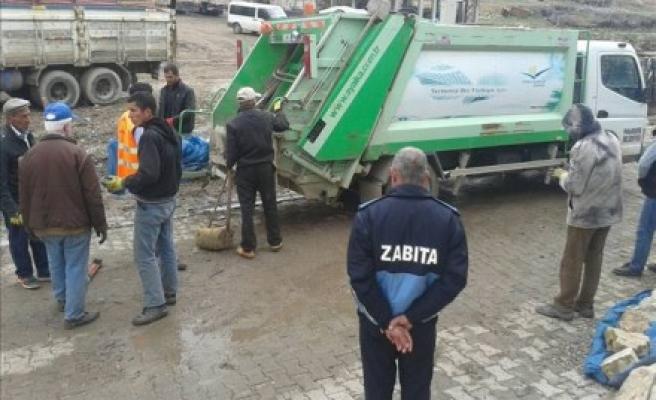 Savur Belediyesinden Bahar temizliği