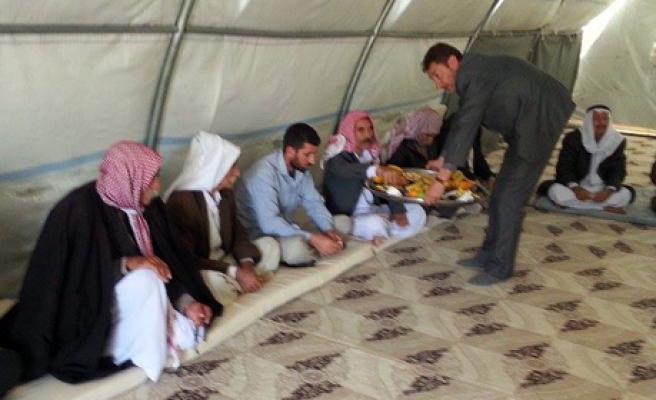 Midyat'ta Ezidiler Kırımızı Çarşamba Bayramını Kutladı