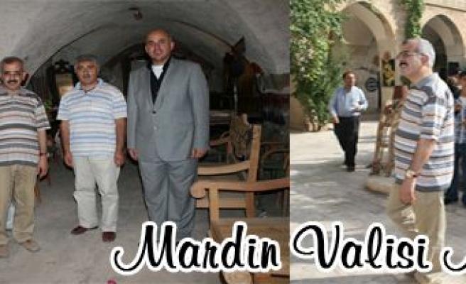 Mardin Valisi Hasan DURUER Midyat'a Geldi