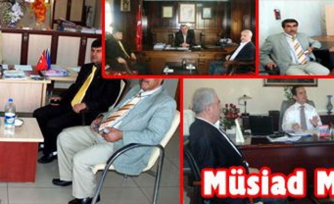 MÜSİAD Mardin Şube'sinden Midyat Turu