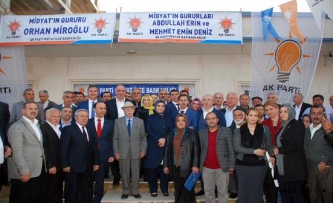 Ak Parti Mardin Milletvekili Adayları Midyat'a Geldi