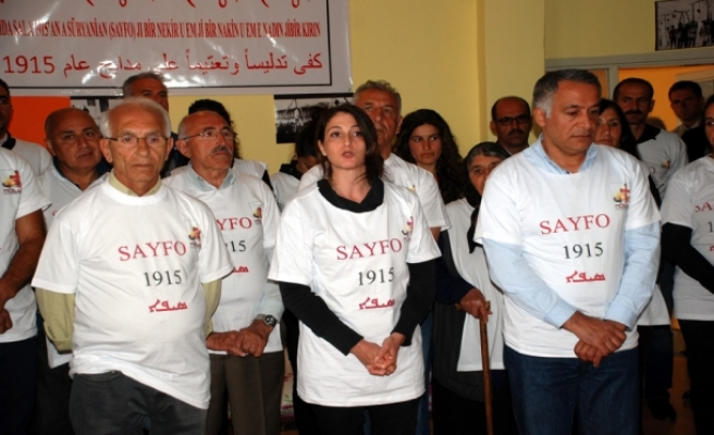 Midyat'ta Süryaniler 100. Yılında 100 Saatlik Açık Grevine Başladı