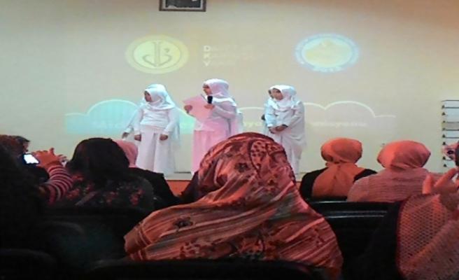 Midyat'ta, 'En Güzel Örnek Hz. Muhammed (SAV)' etkinliği düzenlendi