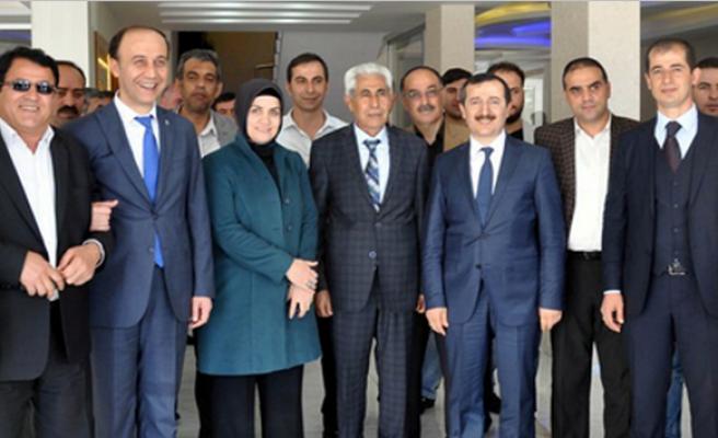 Milletvekilli Adayları, Midyat Leventoğlu Yapı Yönetim Kurulunu Ziyaret Etti