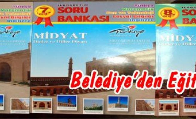Midyat Belediye'sinden Eğitime Destek