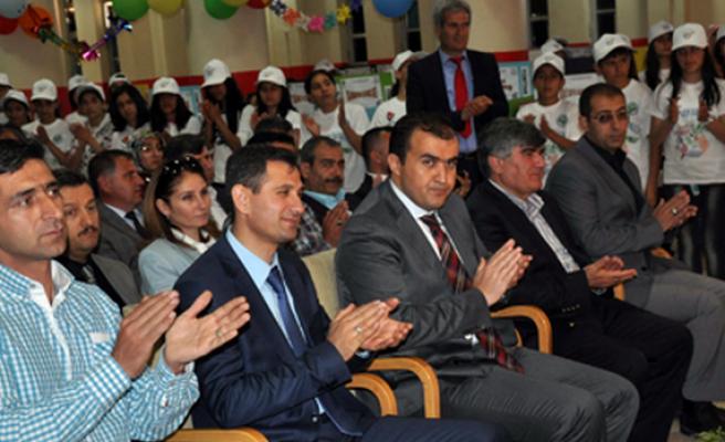 Midyat TÜBİTAK Fuarı Vali Kemal Nehrozoğlu Okulunda Törenle Açıldı