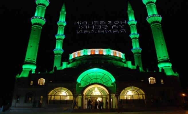 Midyat'ta Ramazan ayının ilk teravih namazı kılındı