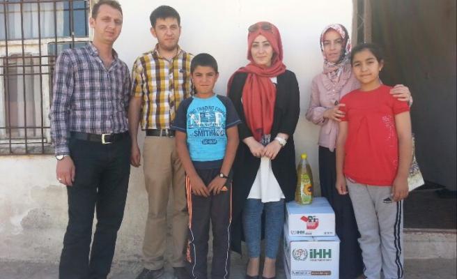 İhh Midyat'ta Ramazan Kumanyası Dağıttı