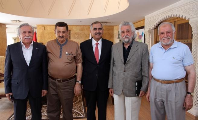 MARVA Vakfı Temsilcileri Vali Koçak'ı Ziyaret Etti