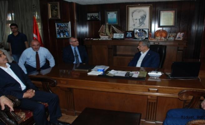 Başbakan Yardımcısı Arınç, Midyat'ta