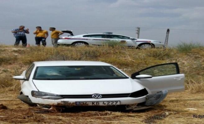 Midyat ilçesinde meydana gelen trafik kazasında 1 kişi yaralandı.