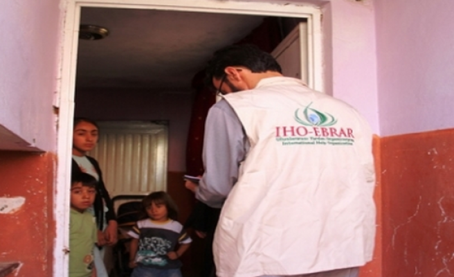 IHO Ebrar'dan Muhtaç Ailelere Et Yardımı