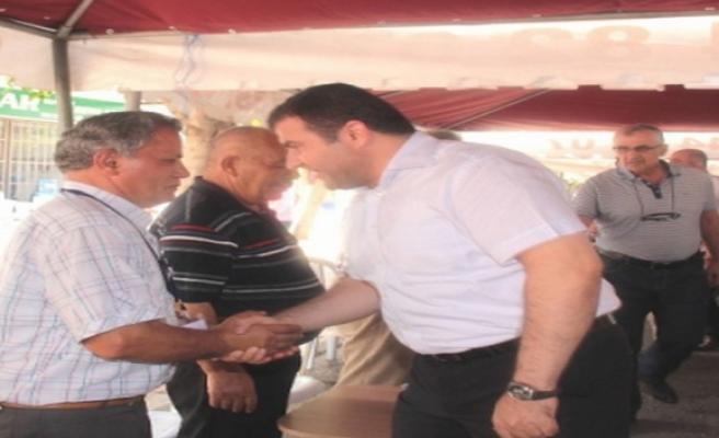 Midyat Belediye Başkanı Nasıroğlu, Şehit Polisin Taziyesine Gitti