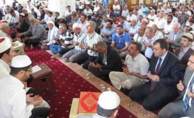 Midyat'ta Şehitler İçin 3 Dilde Mevlit Okutuldu