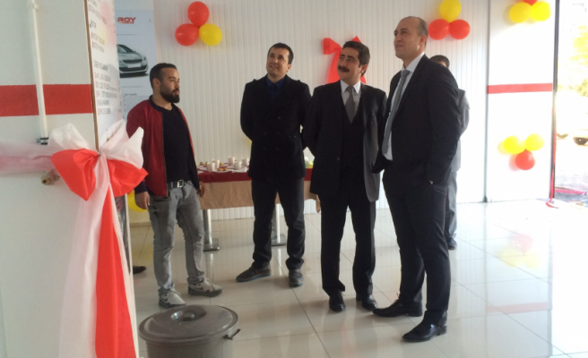 Autoroy Bölge Müdürlüğü Midyat'ta Açıldı