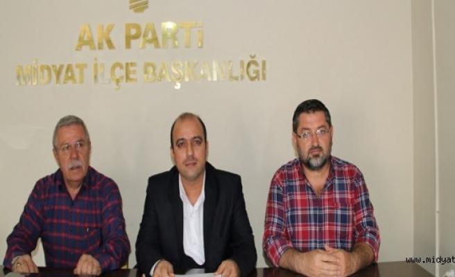 AK Parti Midyat İlçe Başkanlığı, 'Midyat-Estel' Yolu' ilgili açıklama yaptı.