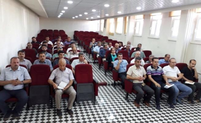 Midyat MEB Kurum Müdürleri Sene Sonu Değerlendirme Toplantısı Yapıldı.