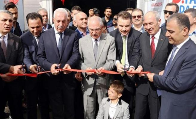 5. Uluslararası Mardin Tarım Ekipmanları Gıda ve Hayvancılık Fuarı' kapılarını açtı.