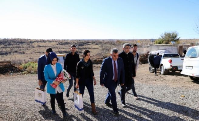 Görevlendirme yapılan belediyeden, şehit yakınları ve gazilere destek