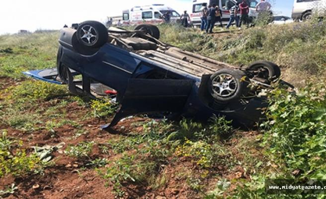 Midyat'ta trafik kazasında 4 kişi yaralandı