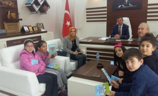 Şehit Velit Bekdaş İlkokulu Öğrencileri Kitap Yazdı