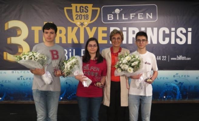 Bilfen'in LGS birincileri belli oldu