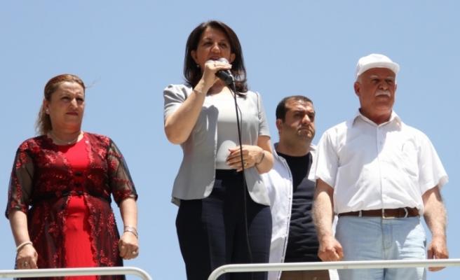 HDP Eş Genel Başkanı Buldan Gaziantep'te