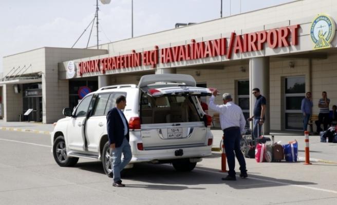 Şırnak'ın batıya açılan kapısı Şerafettin Elçi Havalimanı