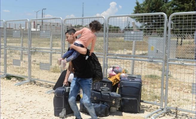 Suriyeliler bayram için ülkelerine gidiyor - Kilis