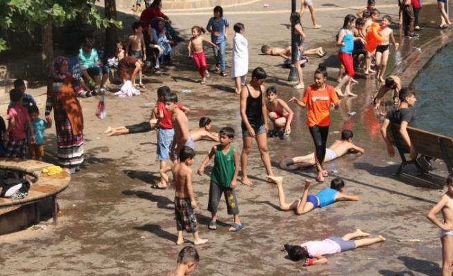 Güneydoğu'da sıcaklık 45 dereceyi aştı