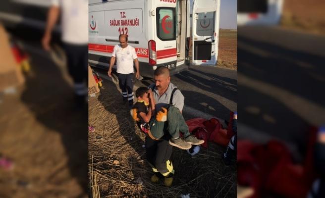 Mardin'de trafik kazası: 1 ölü, 7 yaralı