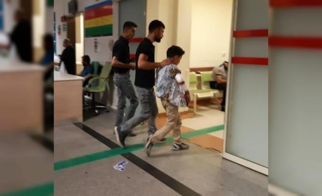 Düğünde havaya ateş açılması sonucu bir çocuk yaralandı