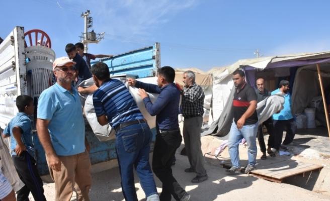 Suriyeliler Adıyaman'daki çadır kentten ayrılıyor