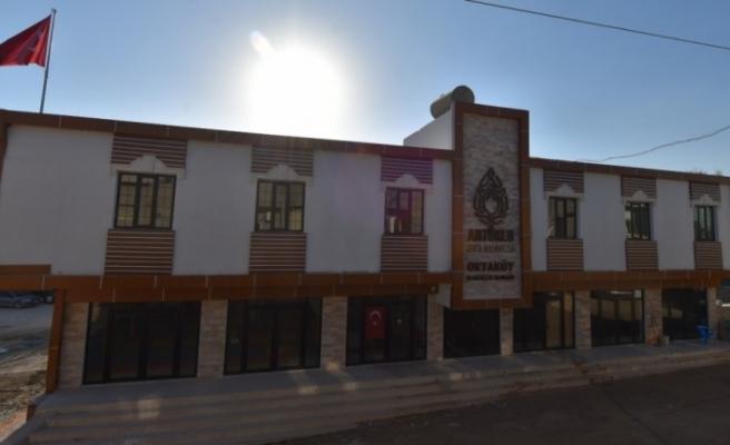Artuklu Belediyesinden Ortaköy'e konak