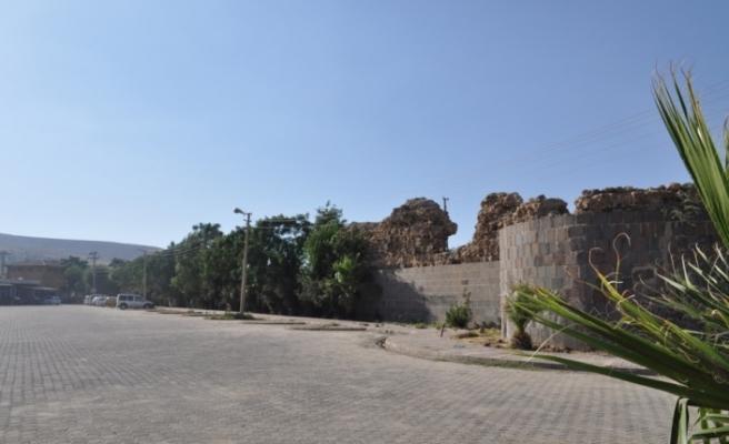 Cizre'nin tarihi surları gün yüzüne çıkarılacak